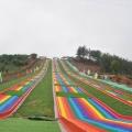 全網都在打卡的景區滑道 七彩滑梯 無動力滑道