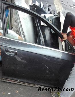 奥迪a6c6车门倒车镜 大灯前嘴 波箱发动机 方向机 分动箱