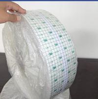 10cm*50米PU防水透明胶带防水膏药贴布 可自裁医用胶布