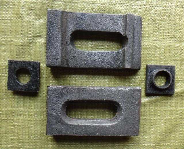 钢筋混凝土结构吊车梁道轨压板和弹性复合橡胶垫-hd