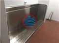 南京学校不锈钢小便槽池订做安装不锈钢洗手台盆