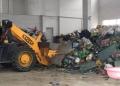 车墩报废工业垃圾处理闵行区废弃边角料焚烧方案