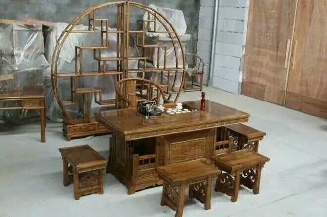 菏泽老榆木古典家具