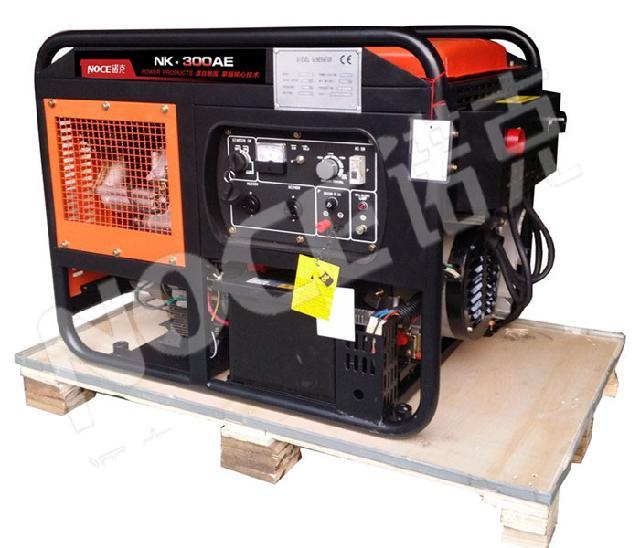 三相300a柴油发电电焊机