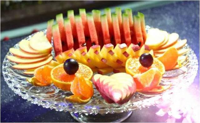 东莞蛋糕学校教你水果多样化之水果拼盘图片