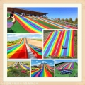 景區彩虹滑道規劃設計 四季可玩的七彩滑梯滑道