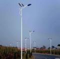 超亮户外防水led新农村50W全套太阳能路灯7米