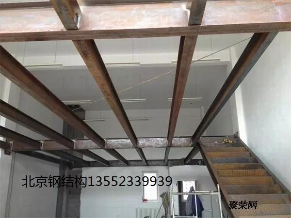 北京海淀区室内钢结构阁楼隔层制作