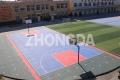 室外篮球场悬浮拼装地板批发 厂家直销