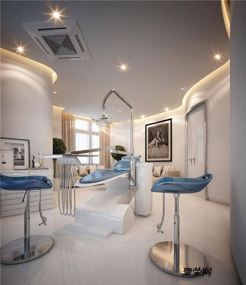 重慶現代牙科門診裝修,牙科診所門診裝修設計