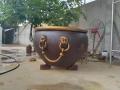 庭院魚荷戶外鑄銅大缸 純銅花盆紫銅仿古大缸