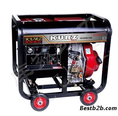 6kw三相电启动汽油发电机价格