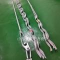 預絞式安全備份線夾 導線OPGW耐張備份線夾施工安裝