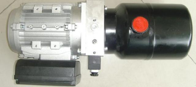 新能源车液压系统 电动环卫车动力单元 纯电动车液压系统图片