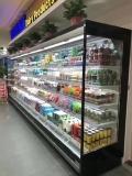 河南超市酸奶冷藏保鮮展示柜定做