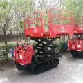 無級變速履帶運輸車 履帶翻斗自卸車 園林修剪液壓升降