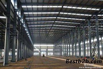 钢结构厂房广泛应用于大跨度工业厂房