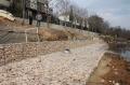 銅陵河堤改建格賓網 護坡施工