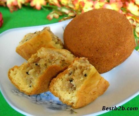 制作糕点蛋糕皮月饼花生酥月饼