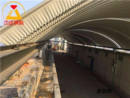 江苏杰达钢结构工程有限公司专注于拱形屋顶(金属波纹钢屋盖)结构