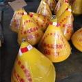 圓錐形的水上聚乙烯小浮標廠家生產批發