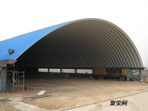 从事设计,制造,安装钢结构拱形屋顶的新形现代企业, 公司技术力量雄厚