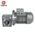 供應RV50系列鋁合金高效伺服法蘭蝸輪減速機
