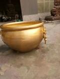 仿古寺院大銅缸 青銅魚缸 太平缸