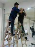 通州區商場試衣間鏡子訂做安裝 走廊鏡子安裝
