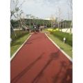 德兴彩色防滑路面德兴薄层冷铺彩色沥青