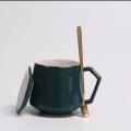 陶瓷廣告杯訂做辦公室水杯馬克杯創意陶瓷杯子定做歐式金