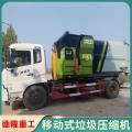 可移動垃圾中轉壓縮機可供貨到浙江寧波