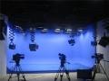 全場景演播室藍箱裝修 校園超高清虛擬演播室建設
