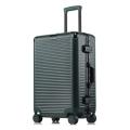方振箱包廠家直銷鋁框拉桿箱萬向輪行李箱密碼旅行登機箱