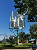 微風發電筒塔