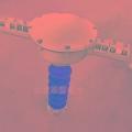 OPPC光纜終端接頭盒24芯電力架空光纖絕緣防爆中間