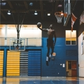 籃球架與底線的距離圖