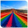 戶外游樂設施 彩虹滑道