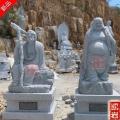 江蘇寺院石雕十八羅漢案例欣賞