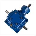 T系列螺旋錐齒輪轉向箱定制90度十字螺旋傘齒輪轉向器