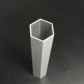 鋁合金六方管加工木紋轉印一上海至律鋁業