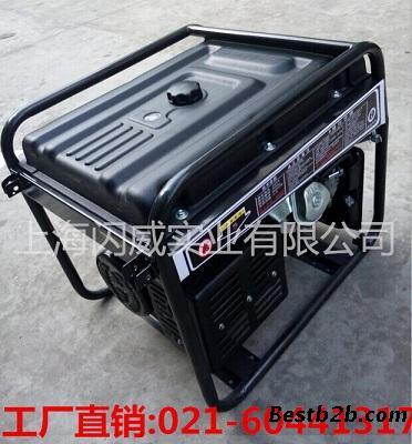 闪威8kw汽油发电机使用方式