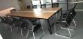 供應各種會議桌 穩重板式會議桌 時尚鋼架會議桌等