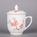 茶杯陶瓷家用带盖景德镇过滤泡茶杯办公室水杯厂家