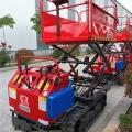 履帶升降車 果園裝載履帶運輸車 電動剪叉式升降平臺