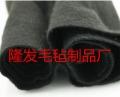 PET阻燃纖維無紡毛氈布,無鹵低煙阻燃不織布毛氈