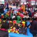 在广场适合经营一个多大的儿童充气沙滩池£¿
