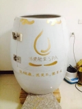 活瓷能量養生蒸缸美容院家用發汗排毒理療翁負離子甕蒸
