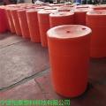 聚乙烯PE塑料攔污浮筒 急流水面垃圾攔截大型浮筒