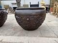 1米龍紋大銅缸 銅制大缸 源頭工廠